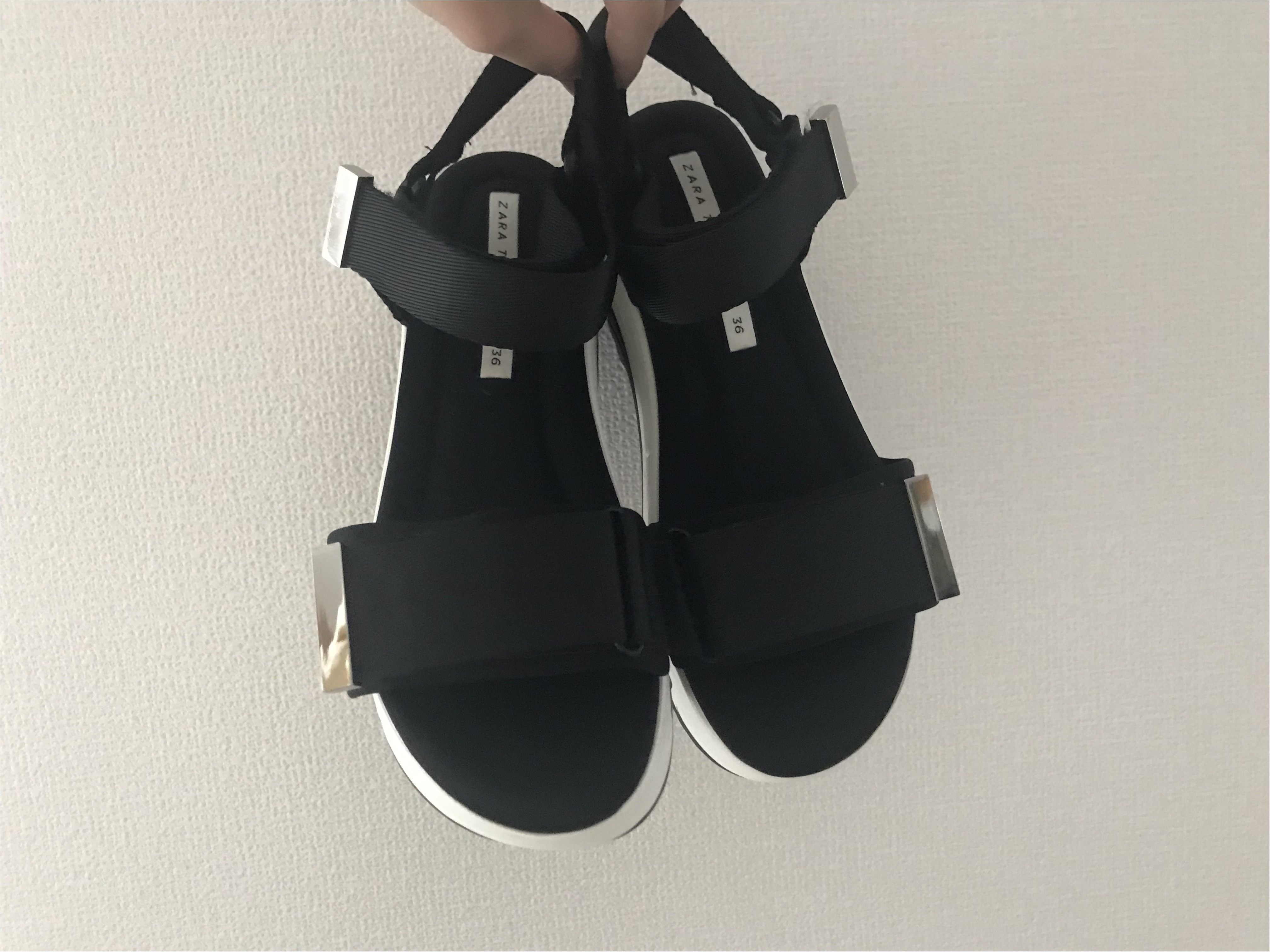 【ZARA】買ってよかった高コスパ靴!売切れ必須#ヴェッジソールサンダルが優秀すぎ♡_1