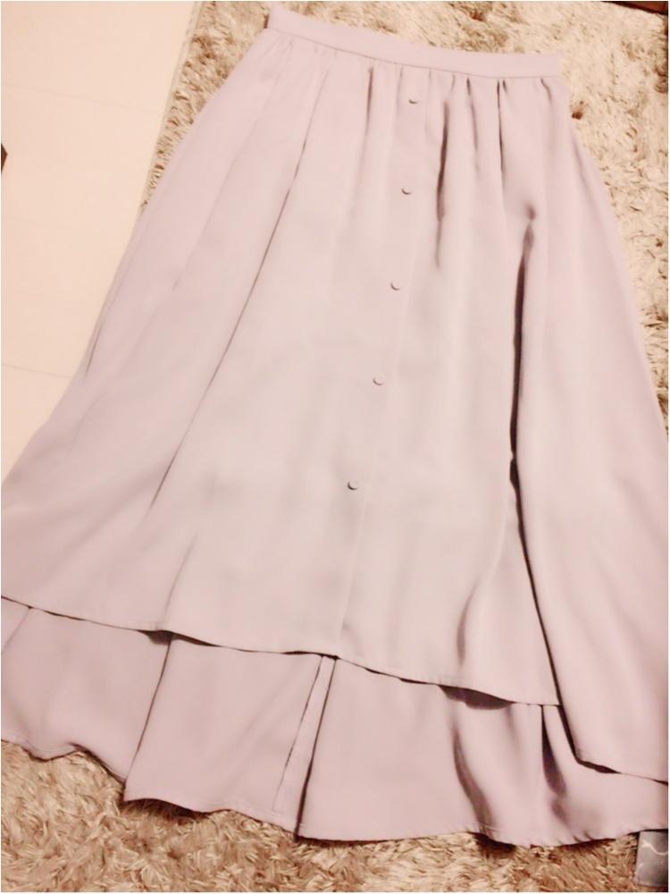 ♡後ろ長めが今年のトレンド!【ViS】のイレヘムデザインスカートがかわいい♡_1