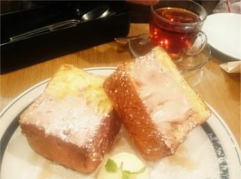 【WIRED CAFE】ボリュームたっぷりなごはんが食べれます!話題のフレンチトーストも!