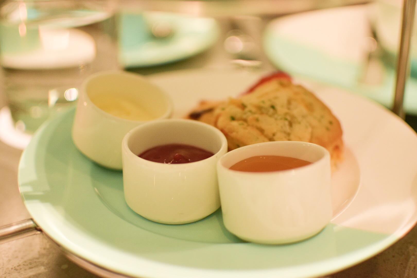 【NY】5番街で「ティファニーで朝食を」実際に食べれる!?The Blue Box Cafe【Tiffany】_6