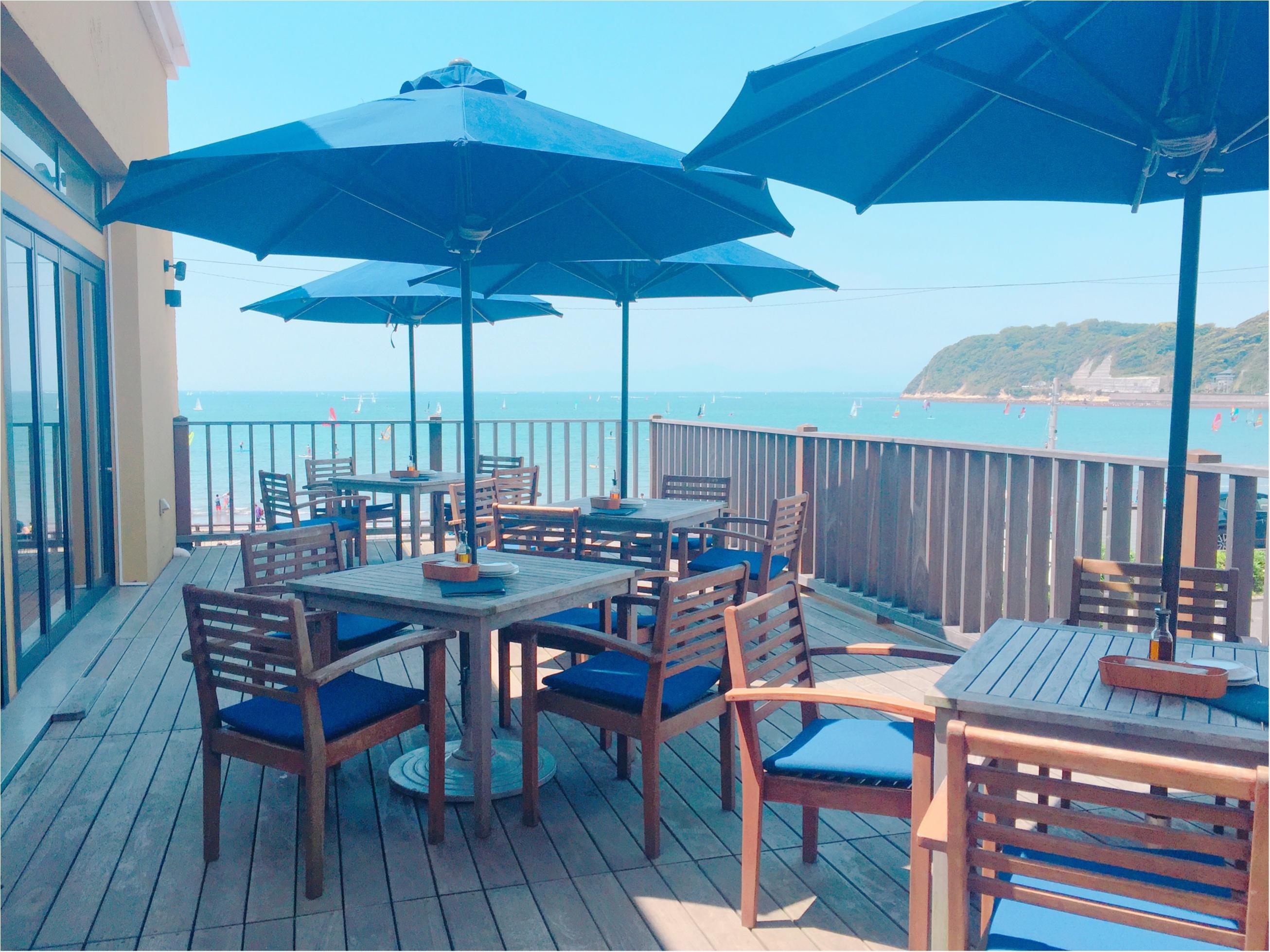 海が見えるテラス席があるレストラン♡逗子『CANTINA』のランチ✨_2_1