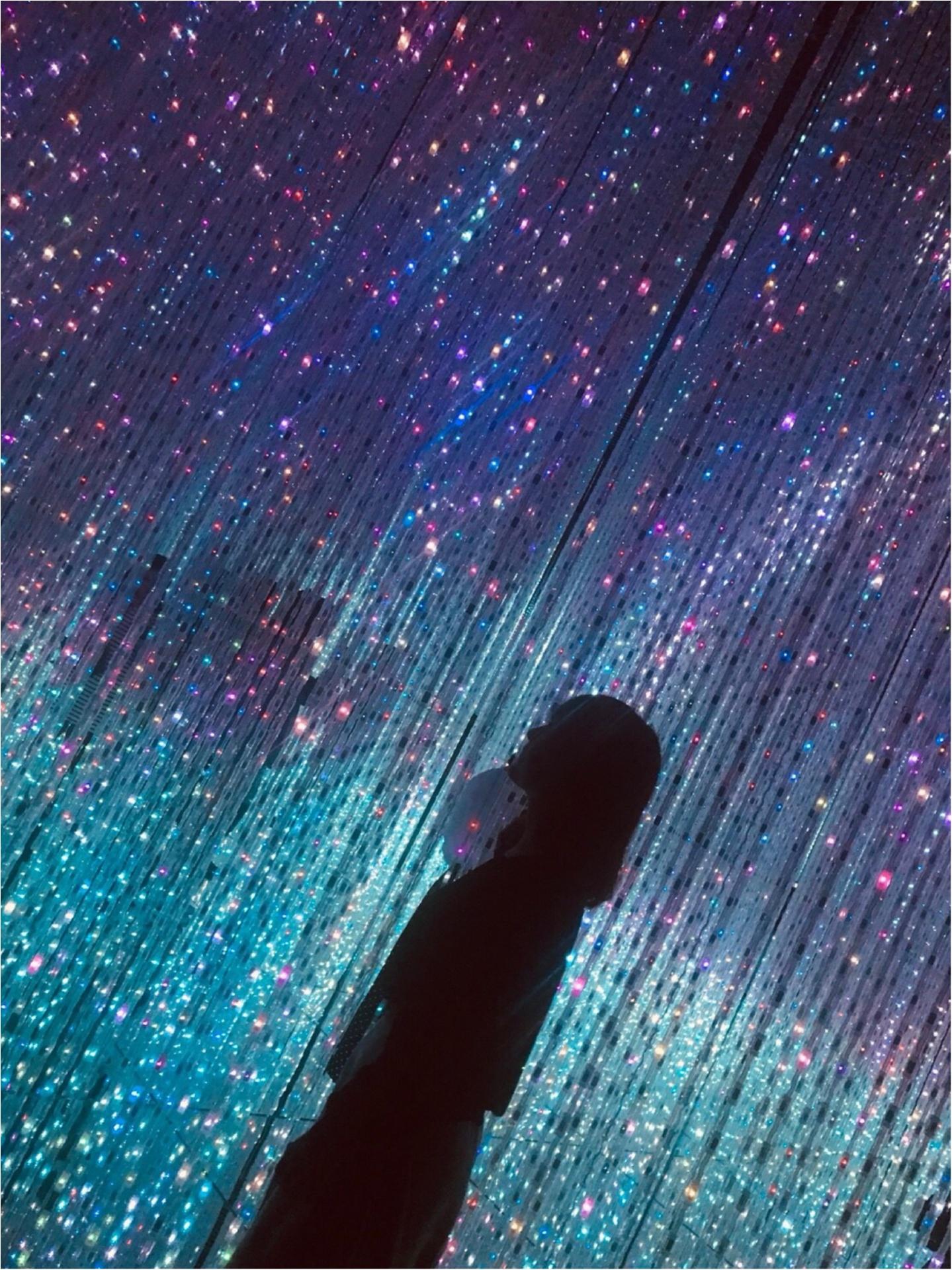 念願の【チームラボ】に行ってきました♡幻想的な空間に感動・興奮・鳥肌!!_9