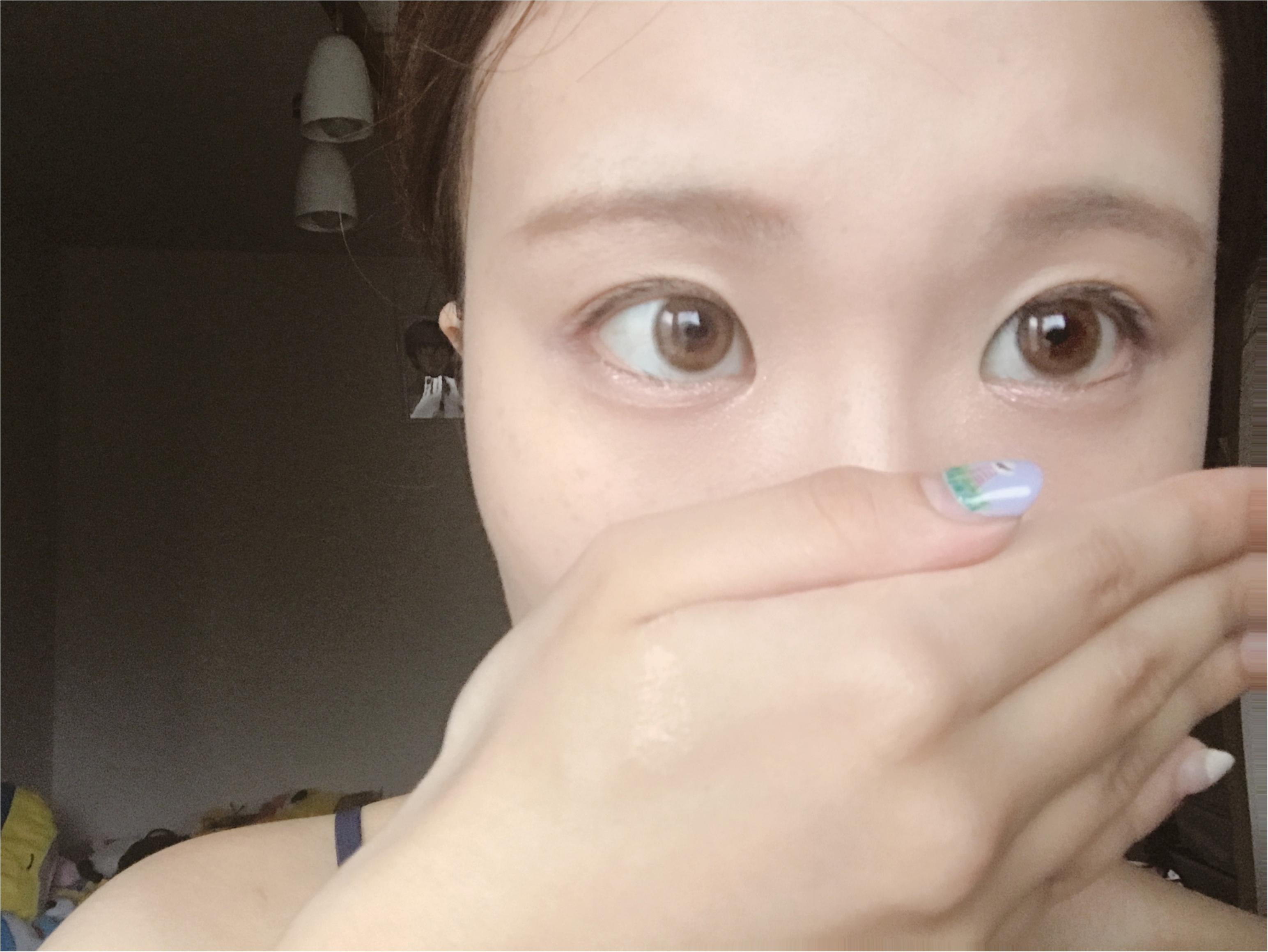 プチプラコスメで簡単メイク♡愛され顔に必須のぷっくり涙袋の作り方_9