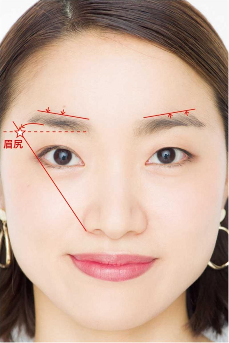 平行眉メイク特集 - 眉毛の形の整え方、描き方のポイントまとめ_36