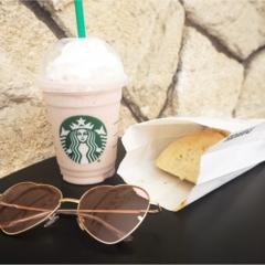 【スタバ】ピンクなストロベリークリームフラペチーノがかわいすぎ♡♡