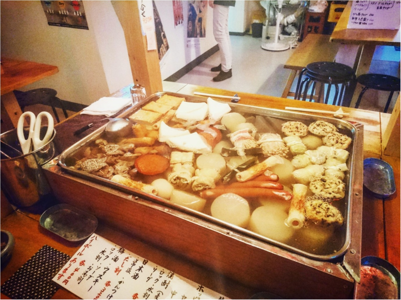 【グルメ】おでんの屋台がお店の中に ♪ これからの季節、寒い日にはぴったり!東京神田『おでん屋台村』_2