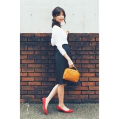 【今日のコーデ】取引先の人と会食の日は、フレンチシックな装いで品よく女らしく!