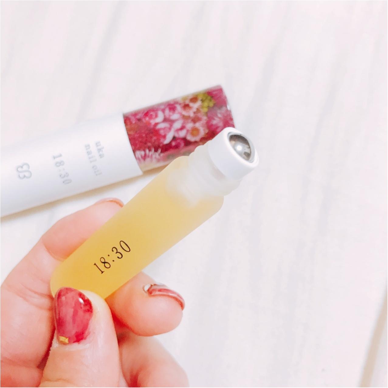ギフトにもおすすめ!【uka nail oil(ウカネイルオイル)】でネイルもココロもリフレッシュ♡_4