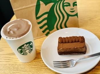 【スタバ】絶対食べたい!新作バレンタインケーキ《デザート ザ ショコラ》が超絶美味♡
