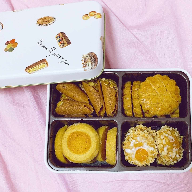 【東京 大田区】メゾン・ド・プティ・フール クッキー缶【お土産 おもたせ】_1
