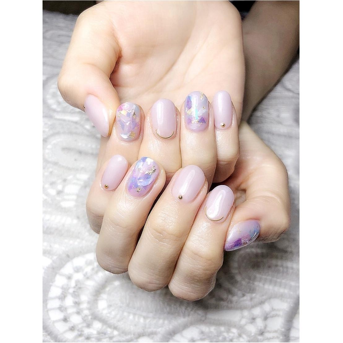 【New♡Nail】梅雨の紫陽花カラー_2