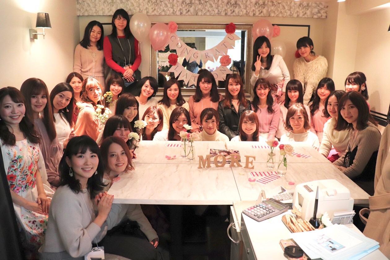 モアハピ部員29人集合@表参道★あのお洒落カフェで《モアハピ女子会》開催♡♡_13