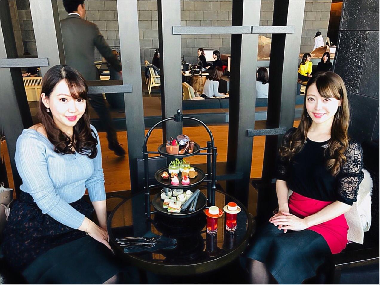 おしゃれ女子ならみんな行ってる【アマン東京】の〝ブラックアフタヌーンティー〝に行ってきました♡ATの写真の撮り方も伝授♡_10