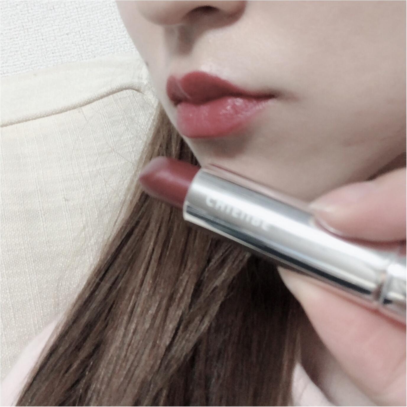 【プチプラコスメ】ブラウンレッドの日本人の唇に馴染みやすい色味!ヒアルロン酸入りのリップが300円?!☻ ♡♡プチプラだからできる試し買いをするチャンス!_2