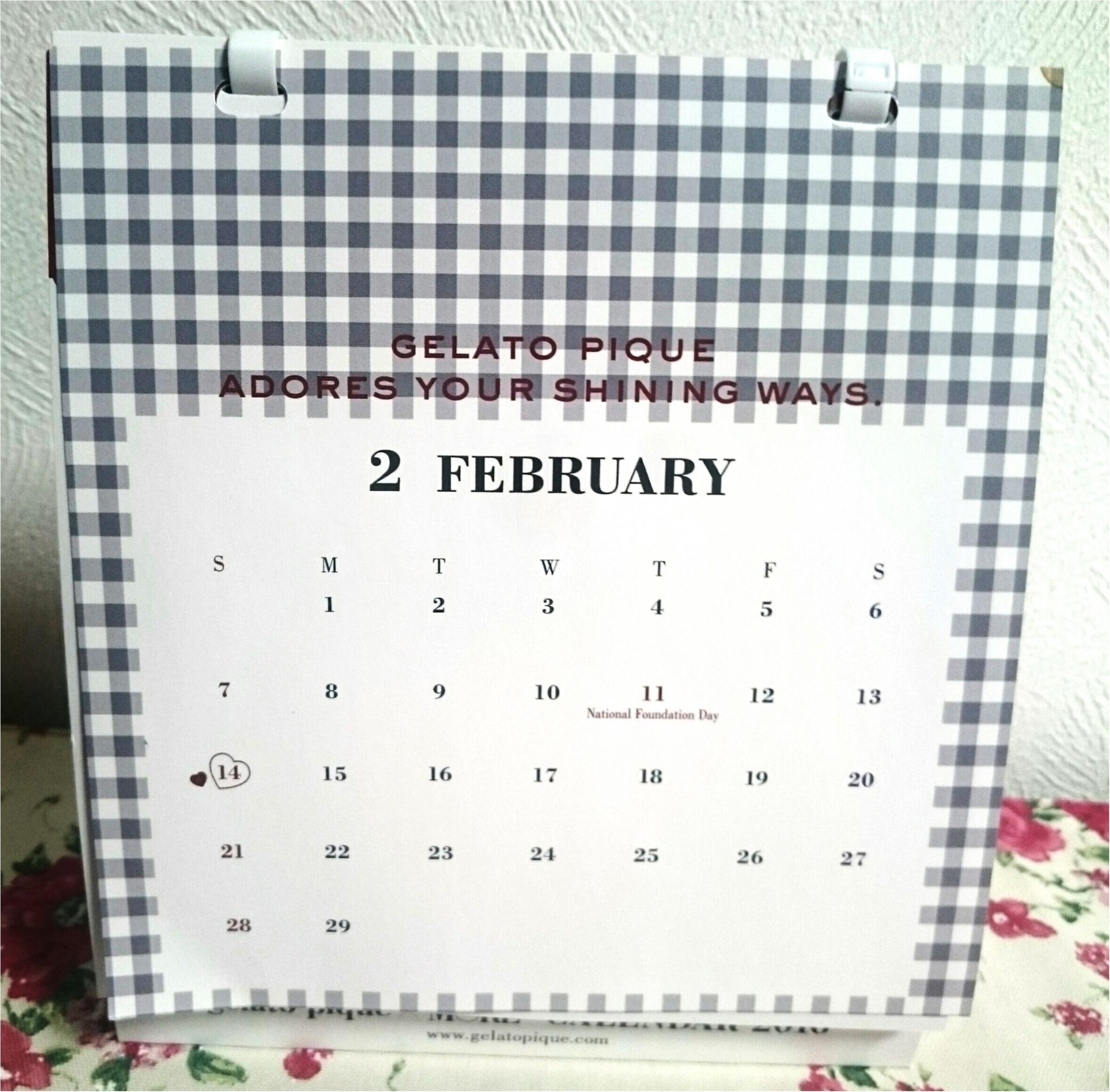 ☆モアハピ部らしくジェラートピケのカレンダーで振り返る2016年、そして2017年に向けて☆_6
