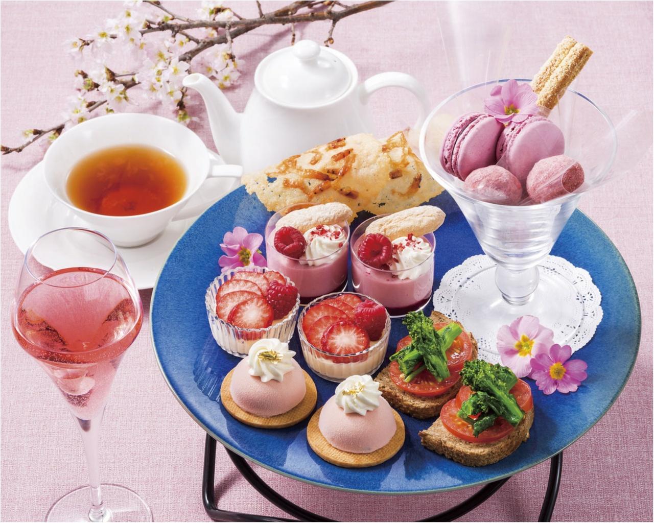 『ヨックモック青山本店』に桜咲く♡ ピンクづくしのティーセットを召し上がれ【4/19(木)まで】_2