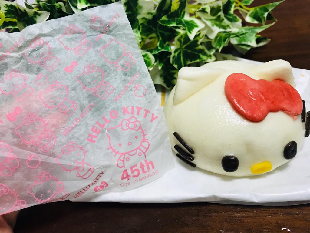 【ローソン】生誕45周年★《ハローキティまん》が可愛すぎて食べられない♡♡_4