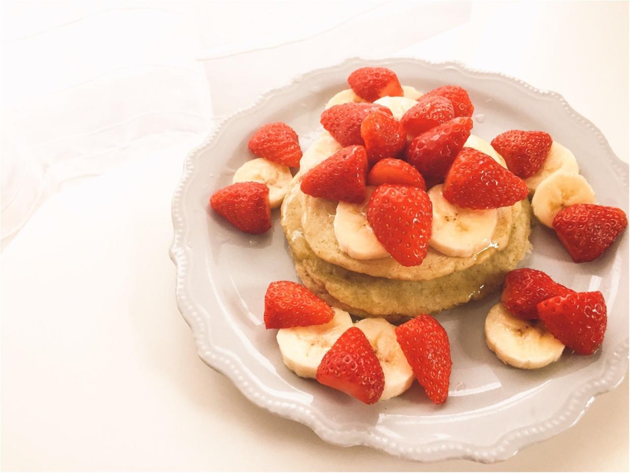 【おうちカフェ】シンプルな美味しさ!ふわもち食感がたまらないっ!『九州パンケーキ』で朝が楽しみになる!!_5