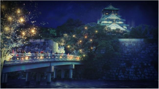 """大阪城ナイトウォーク「サクヤルミナ」も、「京都・嵐山花灯路-2018」も行きたすぎる! 関西の""""幻想的な夜""""が気になる♡_4"""