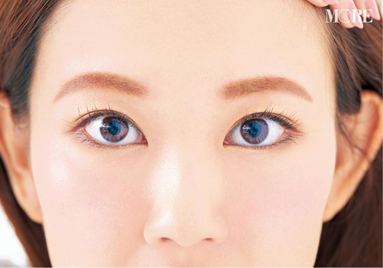 小顔効果のある眉の描き方や、夜まで崩れない眉メイクのコツとは⁉ 美容家・立花ゆうりさんの『優しげピンク眉』に注目 _1