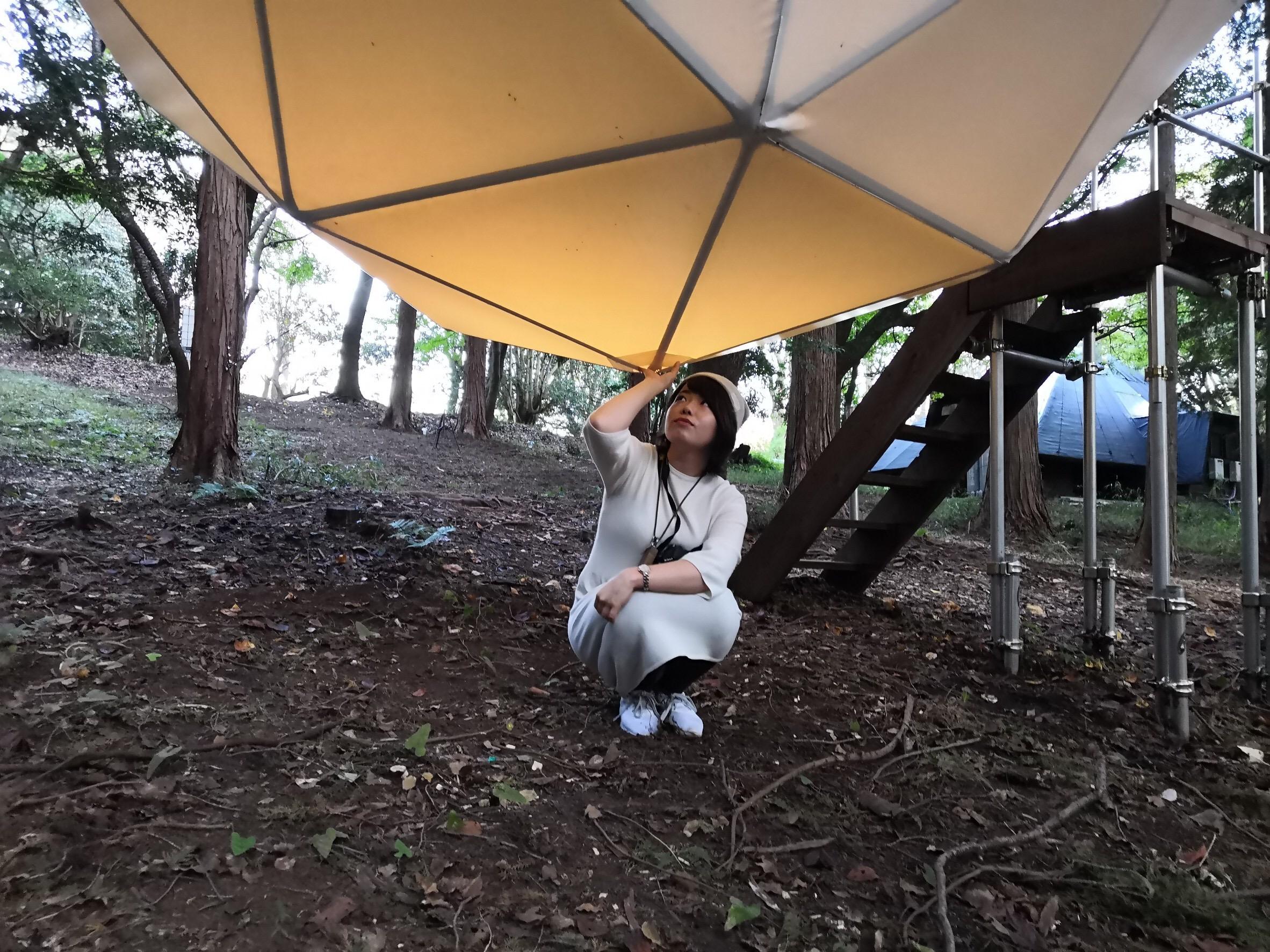 【グランピング】森に浮かぶテントに泊まれちゃう♡《INN THE PARK》@沼津_4