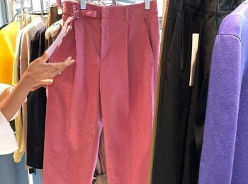 パッと目先から春らしさ満点なパンツがオススメ!『スタニングルアー』の春夏展【 #副編Yの展示会レポート 】