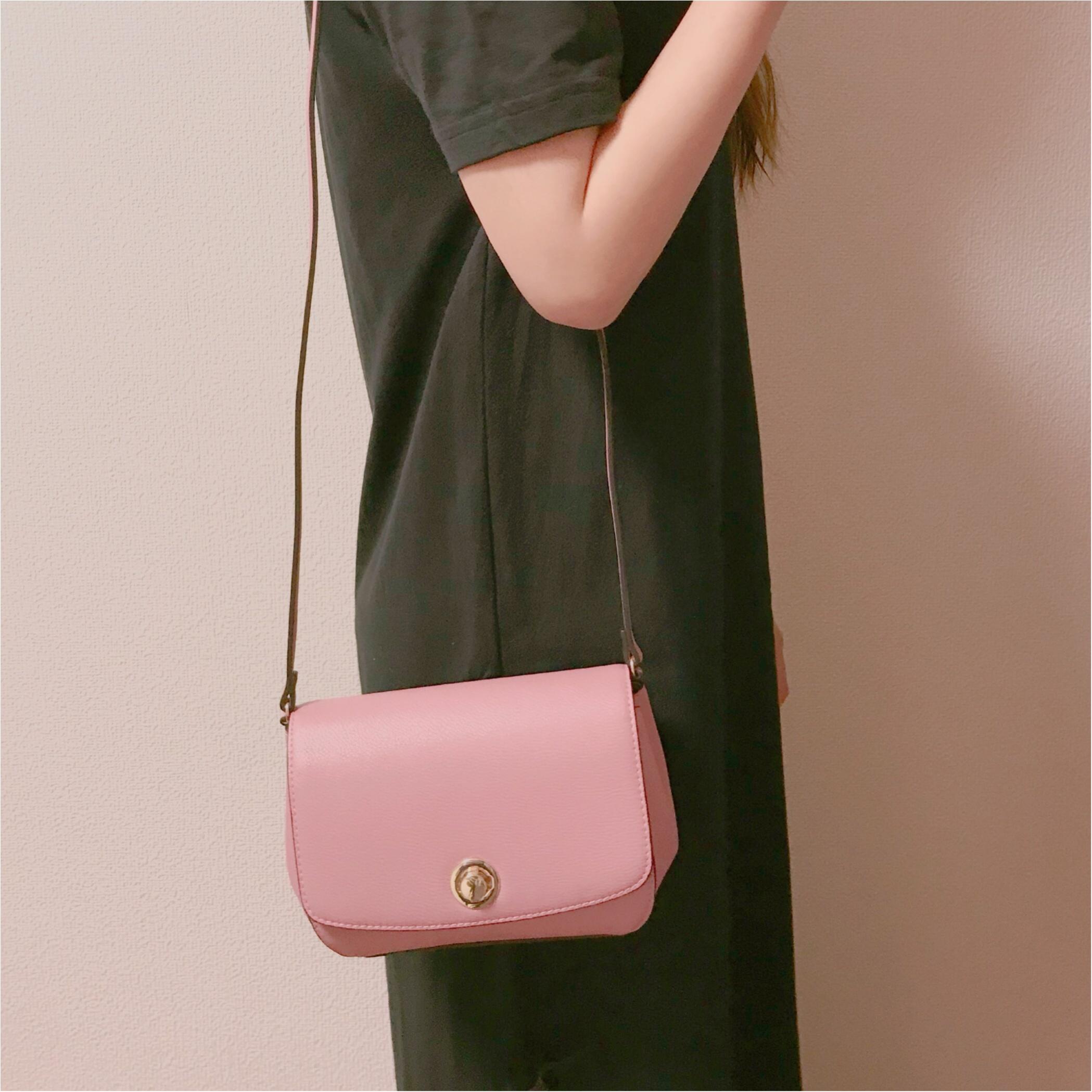 【H&M】ショルダーバッグが2000円以下❤︎プチプラなら挑戦しやすいアクセントカラーがおすすめ!_2