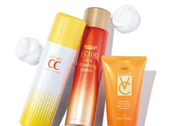 注目の「ビタミンC美容」でくすみのない肌へ♡ 泡タイプ洗顔料やシートマスクで透明感も美白も!