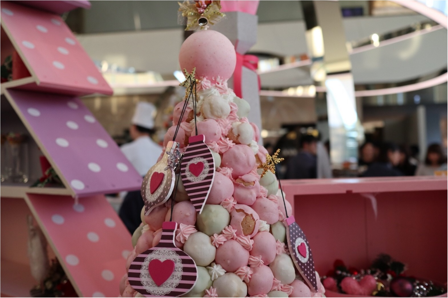 【スイーツ】モアハピ部でピンククリスマス♡_3