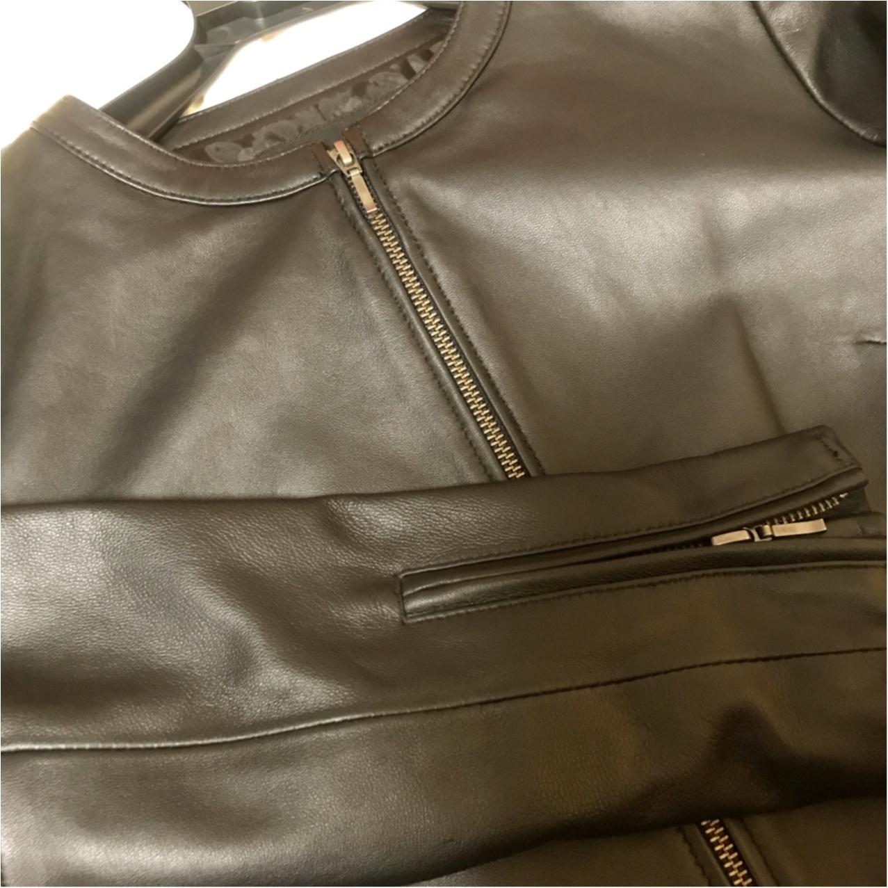 【アラサーのお買い物事情】長く使える良いものを♡大人可愛く着られるリアルレザージャケットって?_2