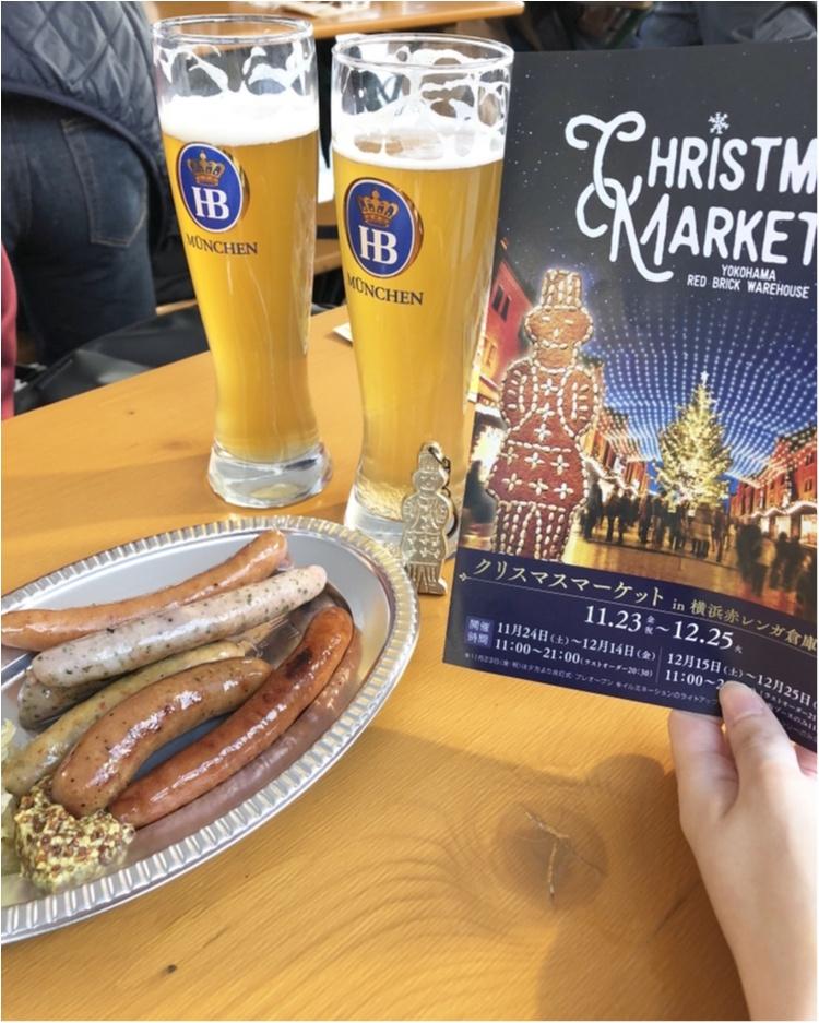 横浜赤レンガ倉庫【クリスマスマーケット】点灯式に行きました!_3