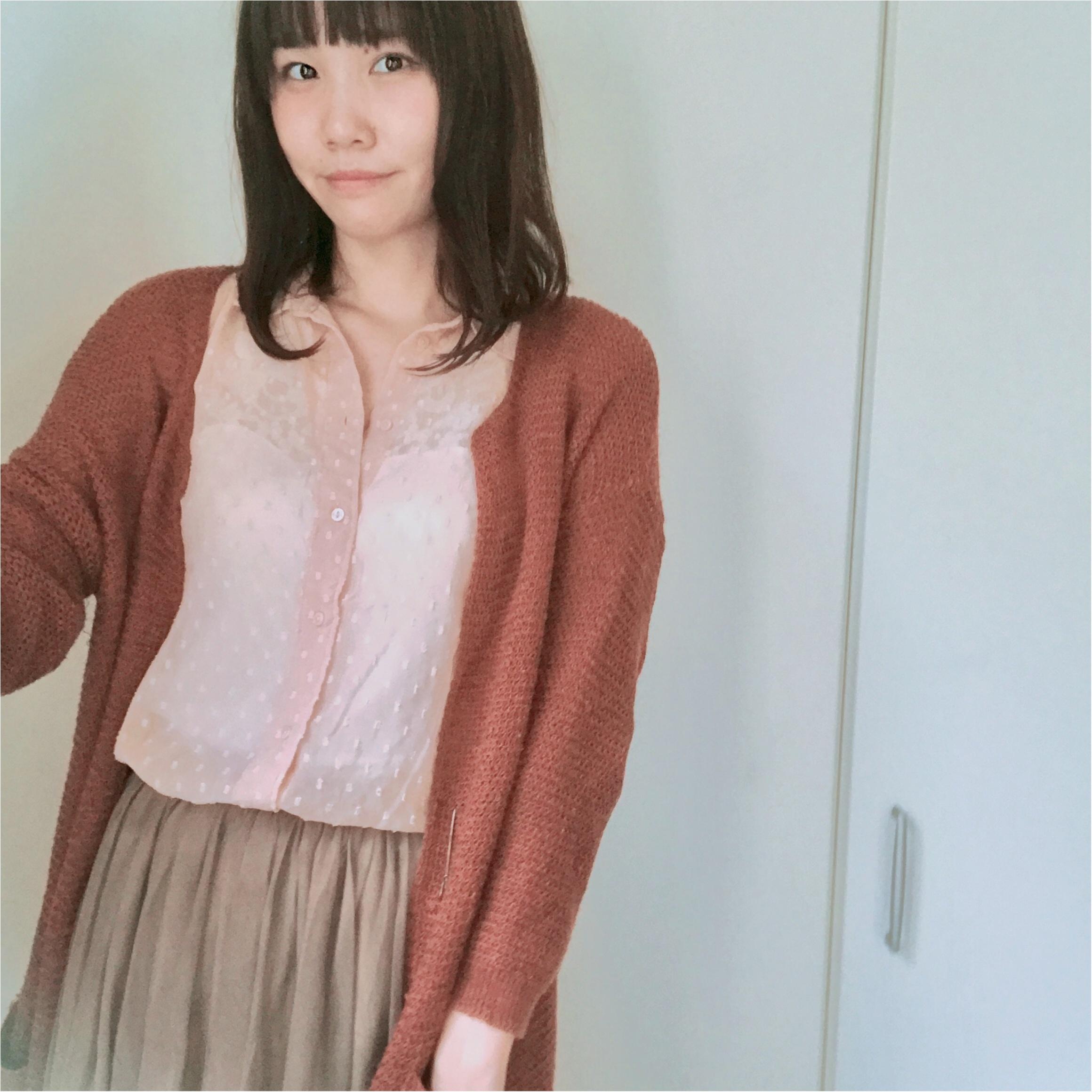【H&M】200円!800円!スモーキーピンクのトップスで秋はじめました♪_8