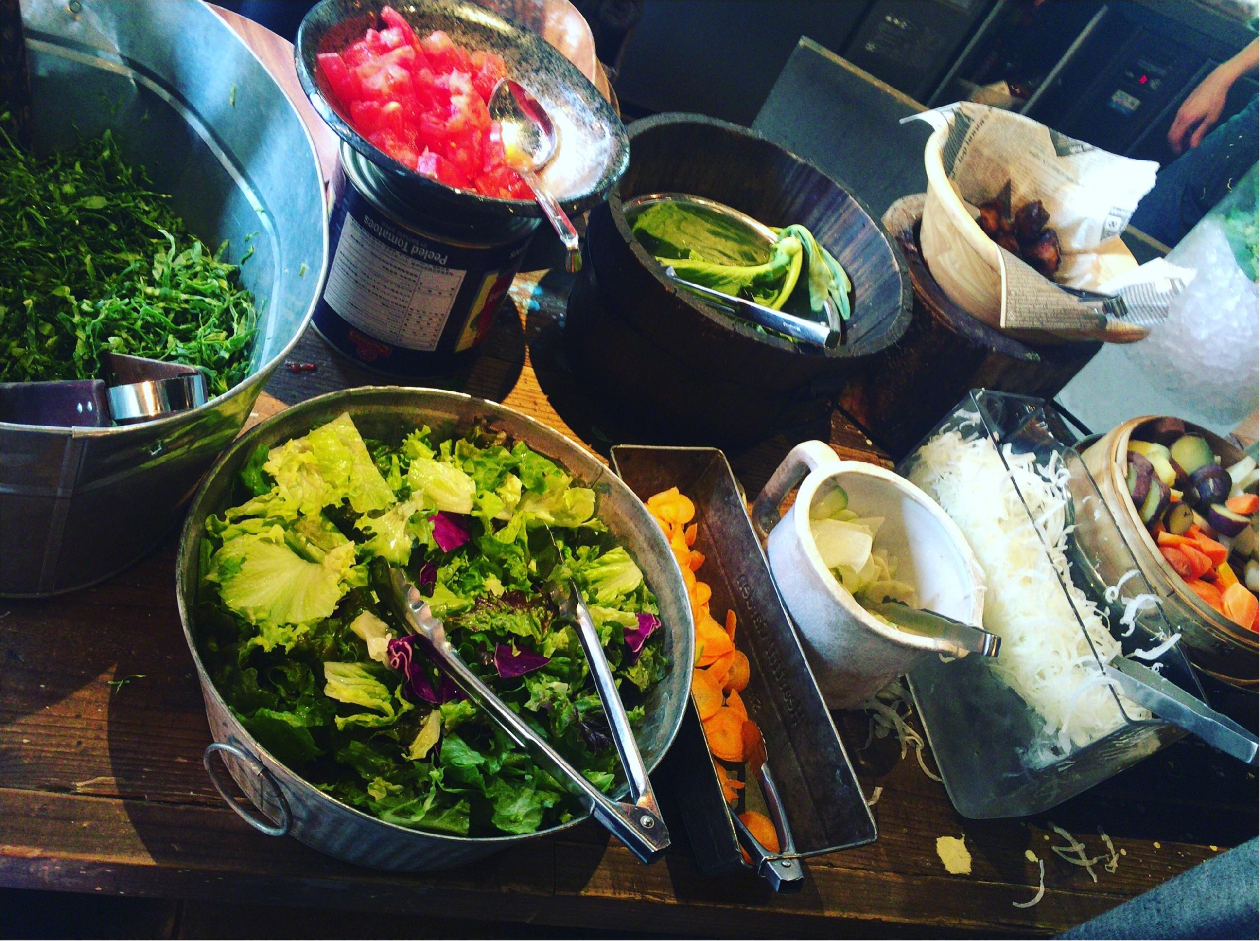 【恵比寿】オーガニック野菜を好きなだけ食べられるサラダランチが¥1,300!メインディッシュ+パン+スープ付き♡≪samenyan≫_5