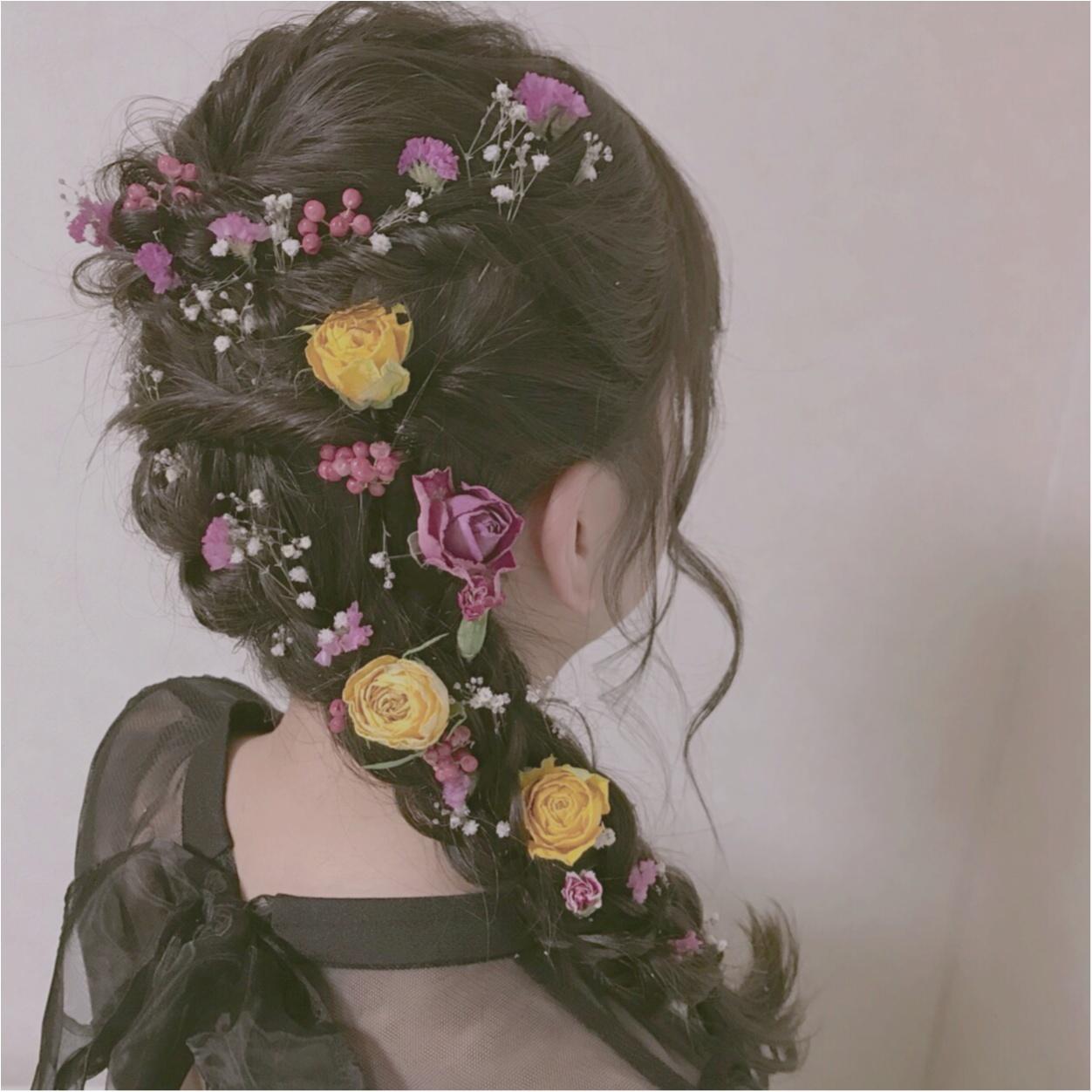 MORE大女子会❤︎素敵な方々との時間、ドライフラワーヘアアレンジなど紹介します!_5
