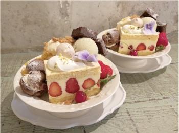 かわいすぎる♡ 人気カフェkipfel・さんの『3周年のアニバーサリーパフェ』でお祝いしてきました♡♡