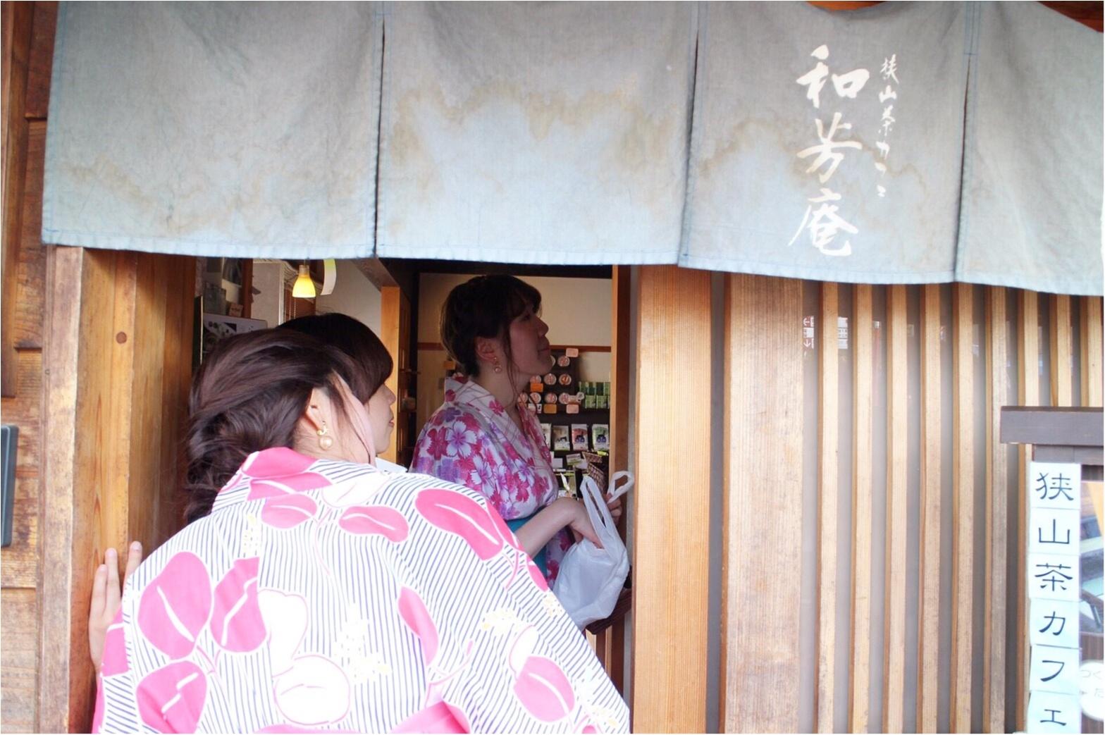 川越浴衣散策★名物芋そうめんとかわいい抹茶スイーツ♡♡_7