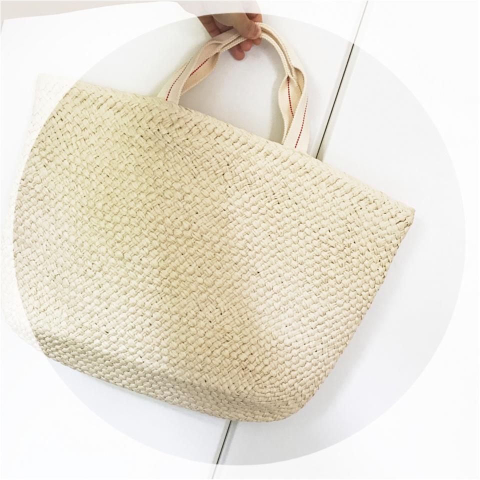 …ஐ 〈UNIQLO〉今年の夏バッグはINESコラボのトートバッグが可愛いくて、大きくて使える❤️ ஐ¨_1