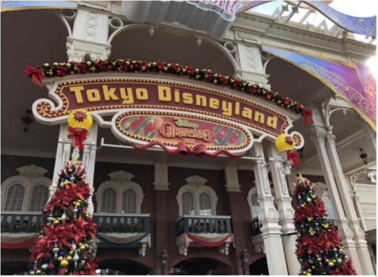 ディズニーランド フォトスポット クリスマス 東京ディズニーリゾート