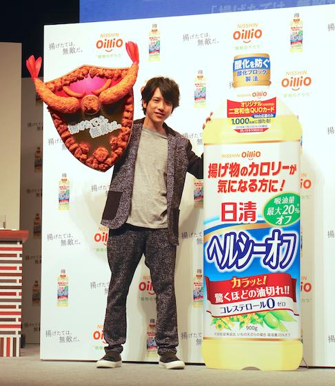 """嵐の二宮和也さんが新CM発表会に登場♡ """"料理男子""""の一面が明らかに!?_2_1"""