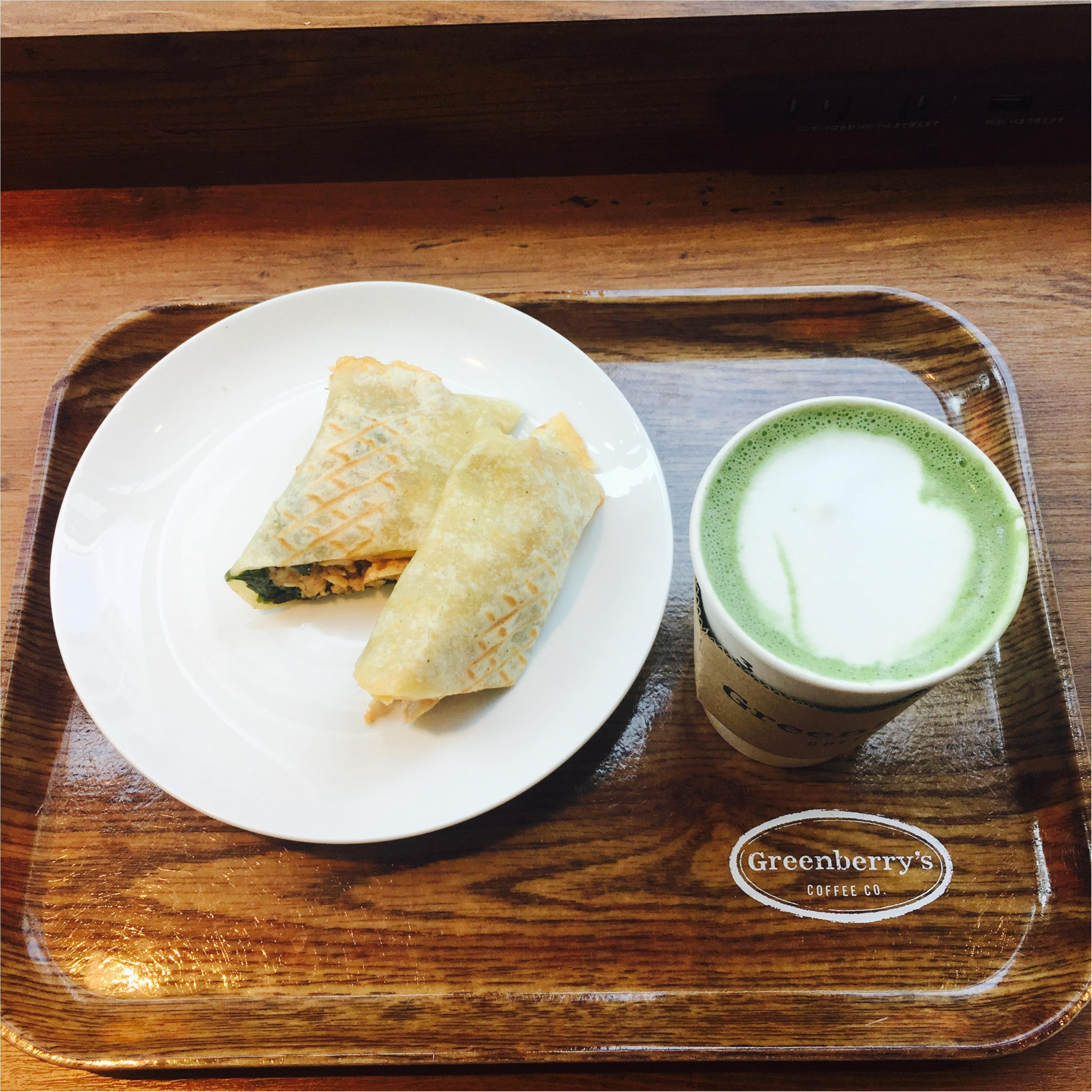 [Greenberry's coffee]日本に4店舗しかないオススメカフェ!マッチャラテが美味しすぎる!_2