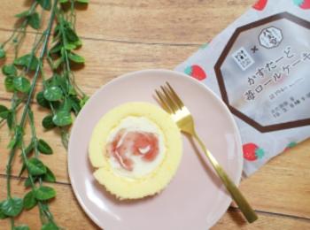 《本日3/5発売❤️》【Uchi Café×八天堂】かすたーど苺ロールケーキが絶品☻!