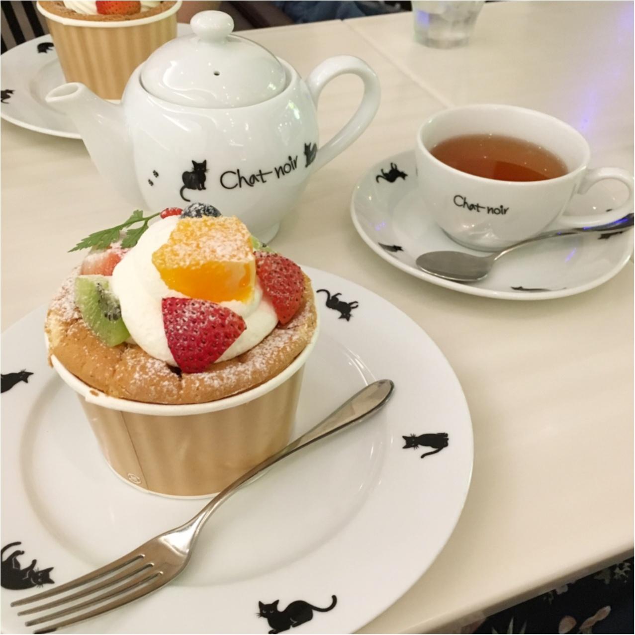 黒猫がかわいいケーキ屋さん♡ 《 シャ・ノワール 》で優雅なひととき♡_2