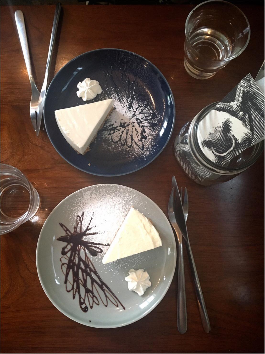 もお〜うまいもぉ♡【三軒茶屋】チーズケーキ専門店に初めていってみた♡_6