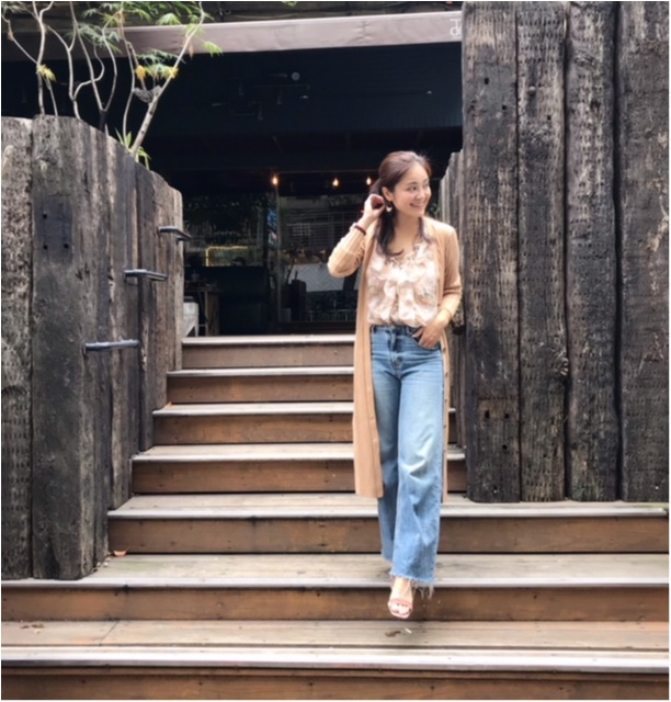 最近のお気に入りファッションは「ワントーンコーデ」♪_4