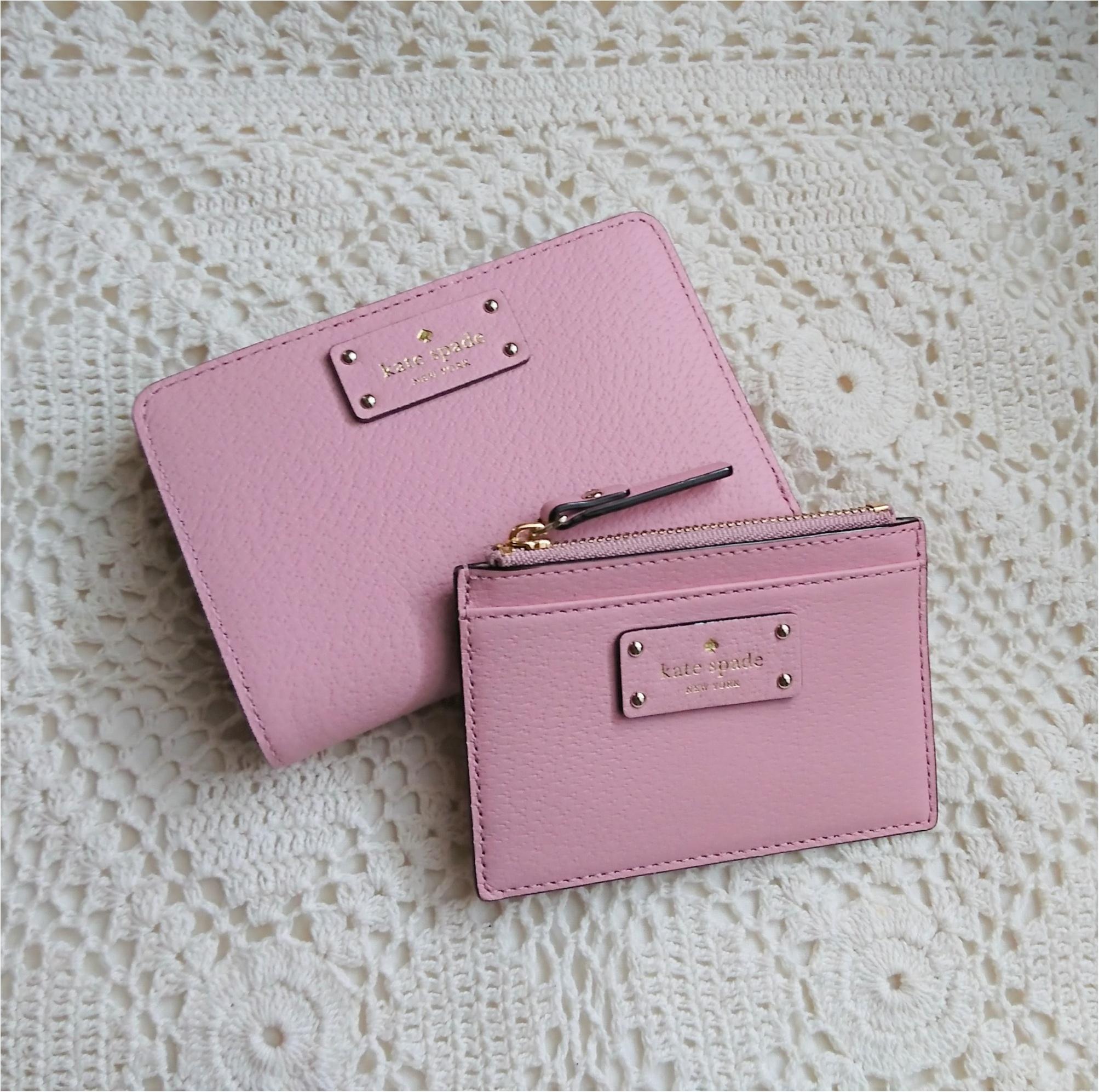 【kate spadeのスマート財布】小さいバッグの時の中身!_1