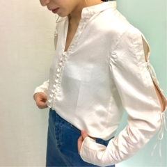 【コレ買っちゃいました!】『mame』のシルクシャツ