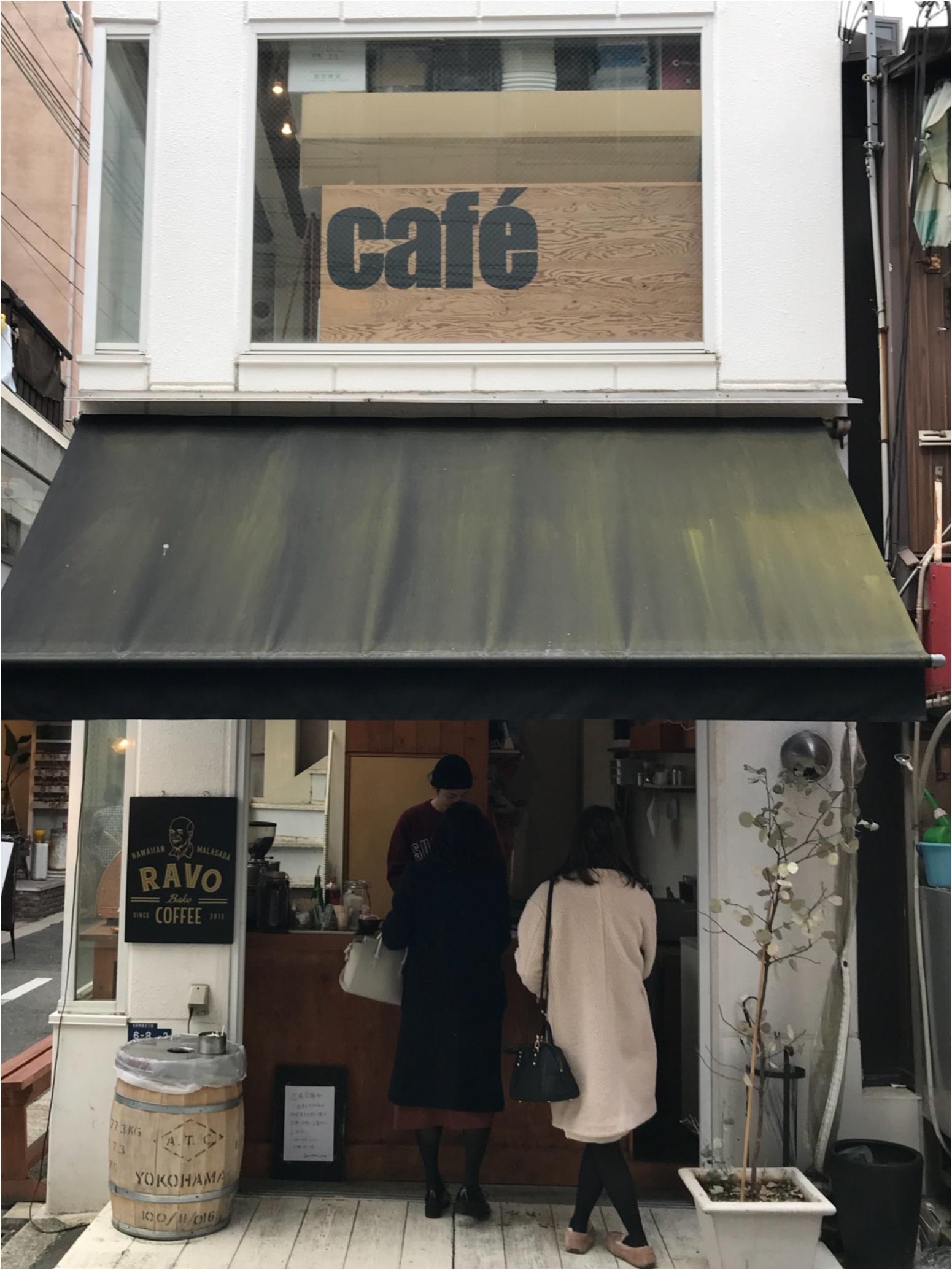 ★お洒落なマラサダに一目惚れ!神戸のお洒落エリアにあるスタンド『RAVO BAKE COFFEE』が素敵★_2
