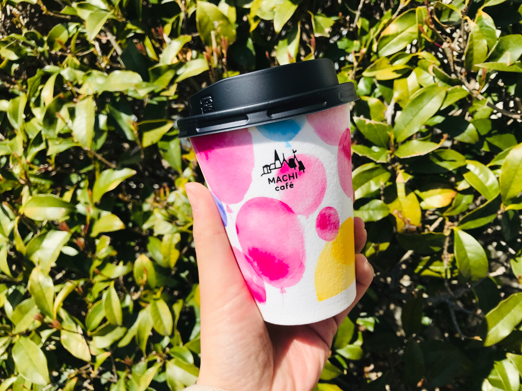 【マチカフェ】カフェラテも春仕様に♪期間限定《春デザインカップ》が可愛いすぎる♡_2