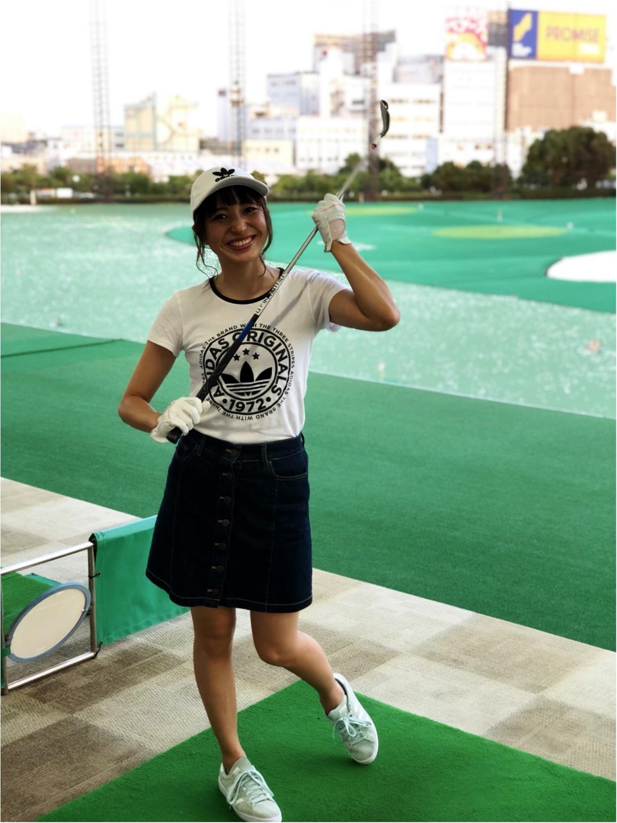 初体験!ゴルフ女子!!_1