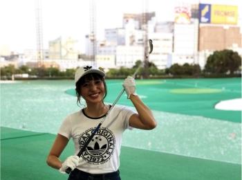 初体験!ゴルフ女子!!